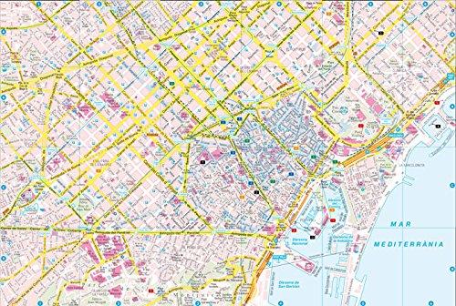 Barcelona City Pocket Map 1:10K FB (English, Spanish, French, Italian and German Edition) 1