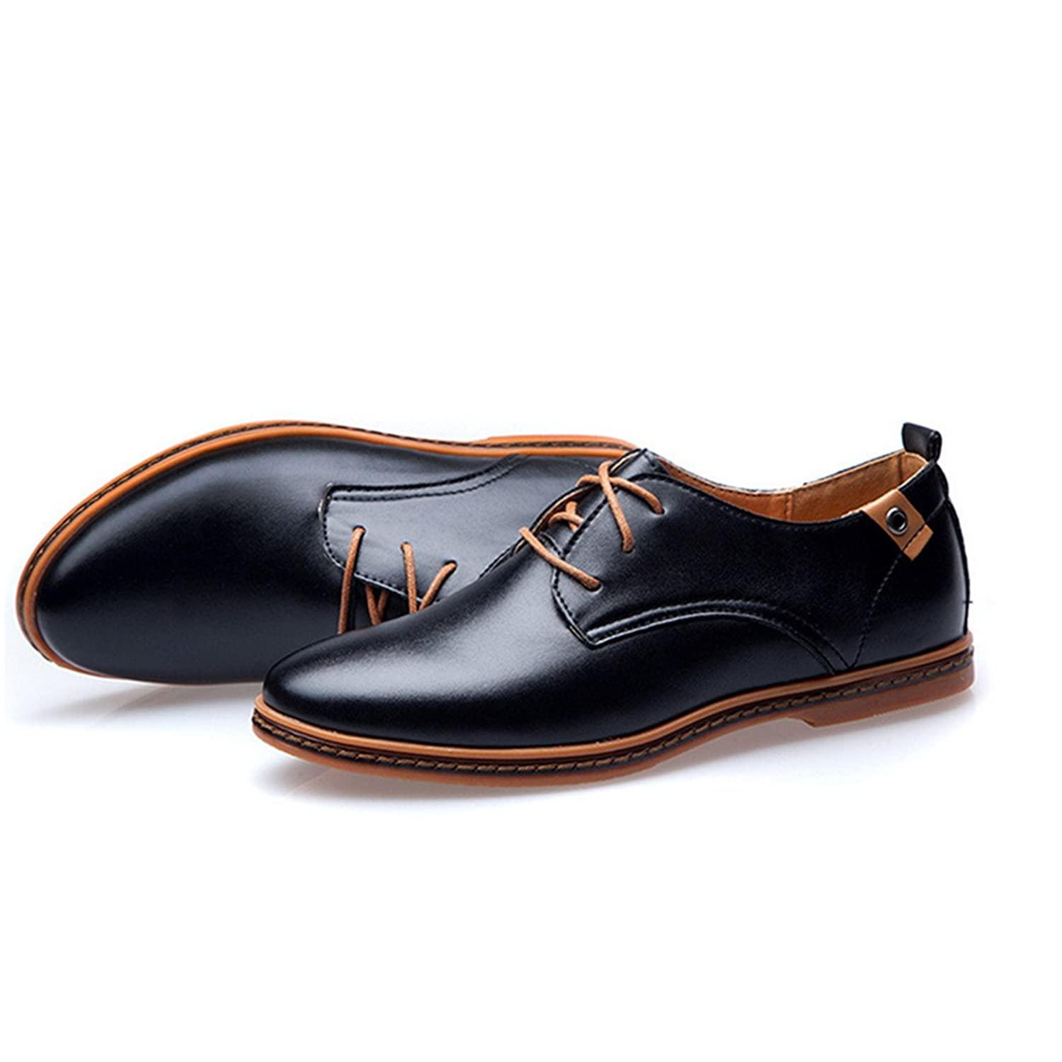 Mens Brown Casual Oxford Shoes