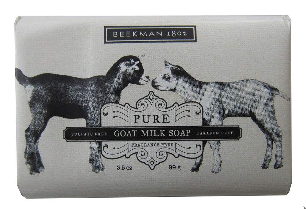 Beekman 1802 Pure Goat Milk Soap Fragrance Free 9.0 oz Bar