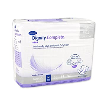 Dignity Complete Briefs, Medium, Pack/24