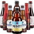 【进口啤酒组合装】VEDETT 白熊啤酒套装 比利时精选销啤酒礼包 330ml*4+250ml*4