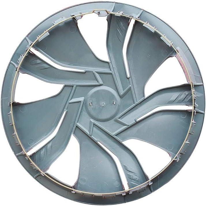 XhuangTech 4Pcs//Set Car Chrome Wheel Rim Skin Cover Hub Caps Hubcap Wheel Cover Black, 14inch