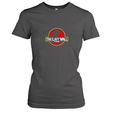 TEXLAB - Titan Park - Damen T-Shirt, Größe S, asphalt