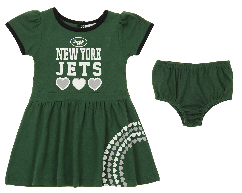 9412cca2766 Amazon.com  Outerstuff NFL Girl s Infant   Toddler (12M-4T) 2 Piece Dress