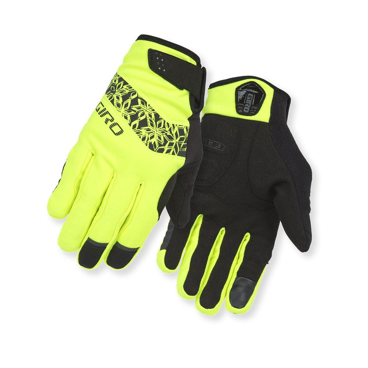 Giro レディース Candela グローブ Medium Highlight Yellow/Black B01636V1KM
