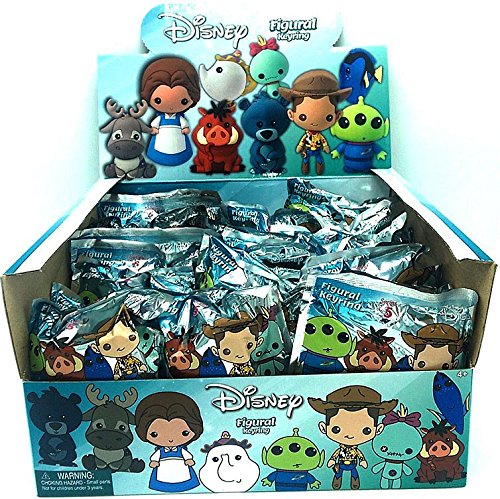 ychain Disney Series 5 Mini Figure Keyring Mystery Box ()