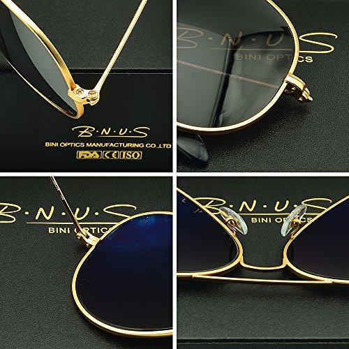 80bc4400030 Italy Sunglasses Made Aviator For Men Women Corning Natural Glass ...