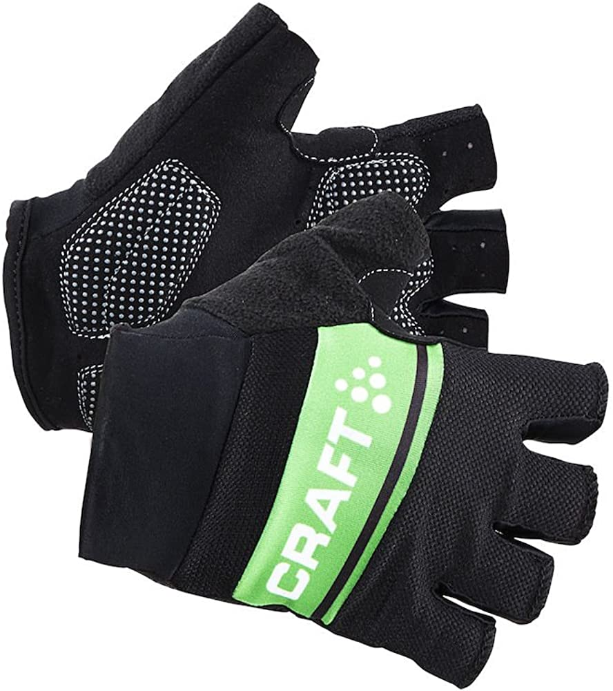 Craft Sportswear Mens Classic Fingerless Bike Cycling Training Gloves with Gel Inserts protective//riding//cooling