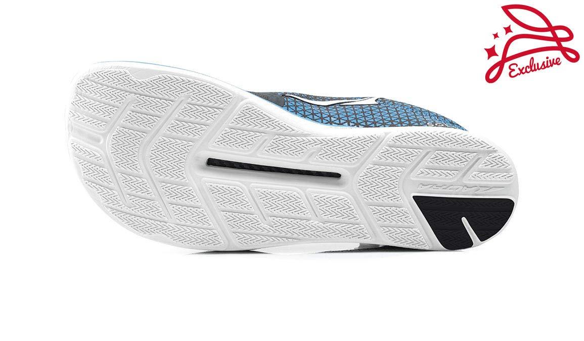 Altra Men's Solstice Running Shoe - Color: Grey/Blue (Regular Width) - Size: 8 by Altra (Image #4)