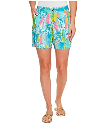 3cce26346 Lilly Pulitzer Women's Jayne Short, Multi Beach and Bae, 2 | Amazon.com