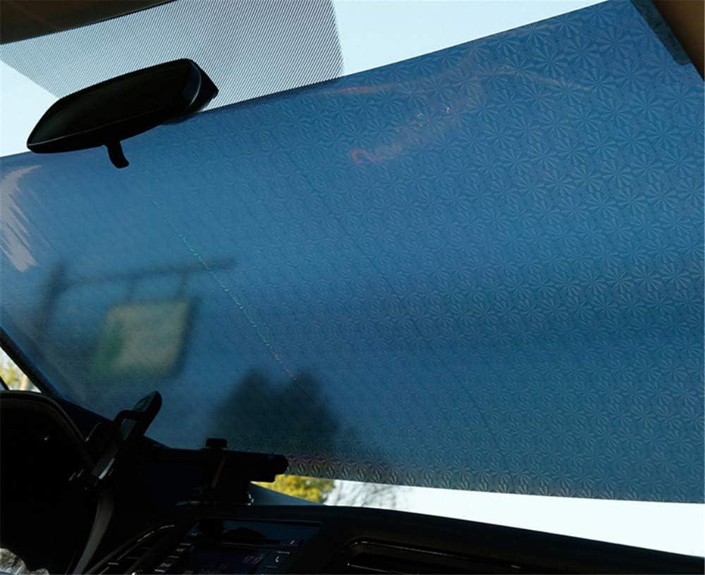 40 Autom/ático persiana Enrollable//Parasol//Cortina de Aislamiento t/érmico//Bloque Lateral del Coche//Bloqueador Solar retr/áctil del Coche Astilla 60 cm