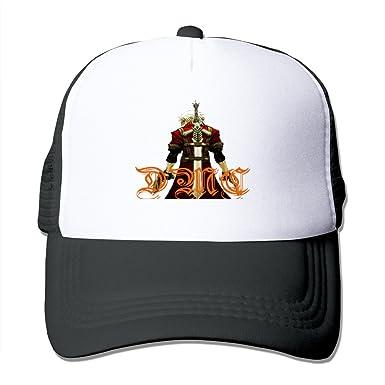 size 40 8e8ff a8d87 Sophie Warner Adjustable Unisex Half Mesh Devil May Cry Snapback Trucker Hat  Black One Size  Amazon.co.uk  Clothing