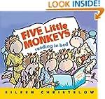 Five Little Monkeys Reading in Bed (A...