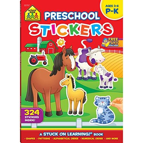 Get Ready For School! Sticker Workbook