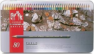 Caran D'ache Caran D''Ache 80 Color Pablo Set (666.380)