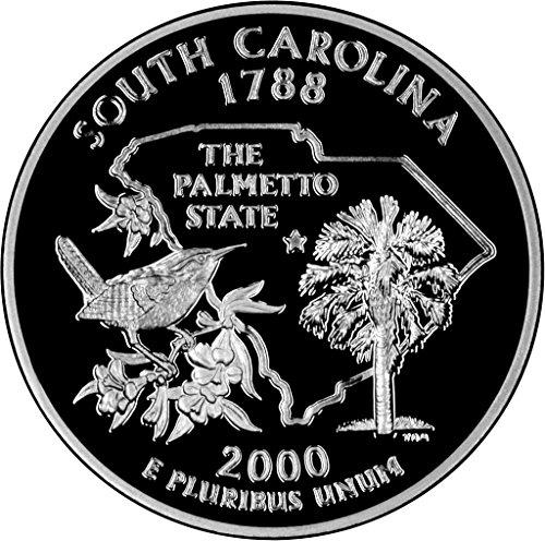 (2000 S South Carolina State Quarter Proof GEM BU++ )