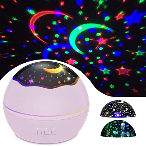 Amazon.com: Sky Star - Proyector de luz nocturna para niños ...