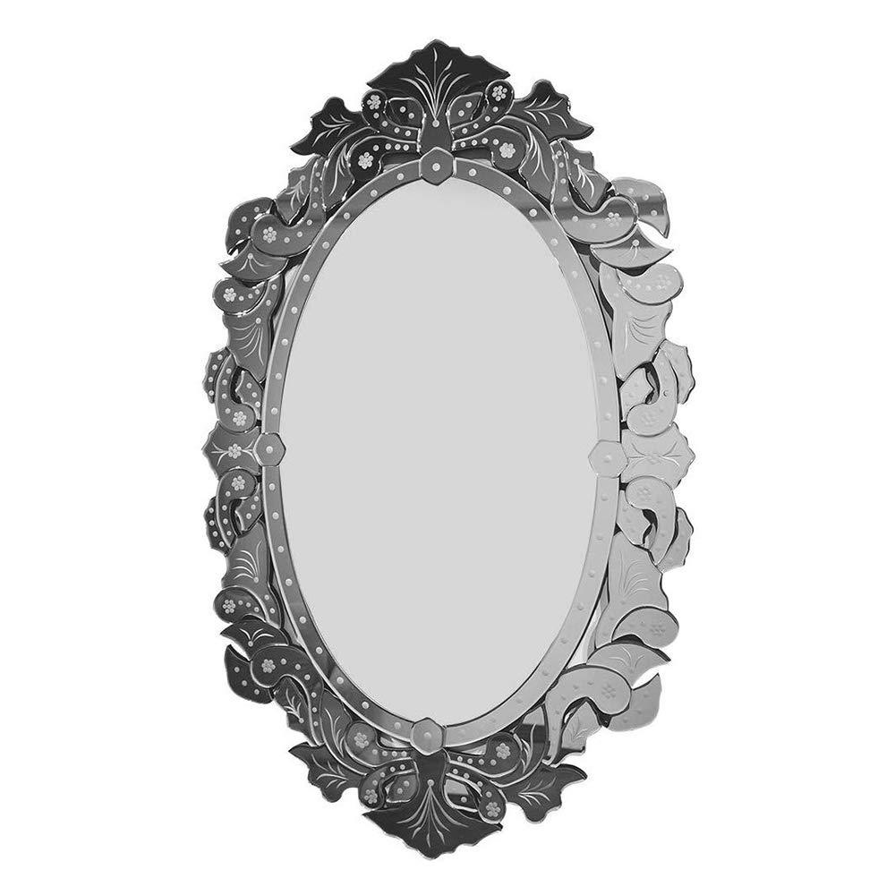 KOHROS Wall Mounted Squared Mirror, Venetian Mirror Decor for The Living Room, Bathroom, Bedroom (W 27.5'' x H 43.3'') by KOHROS