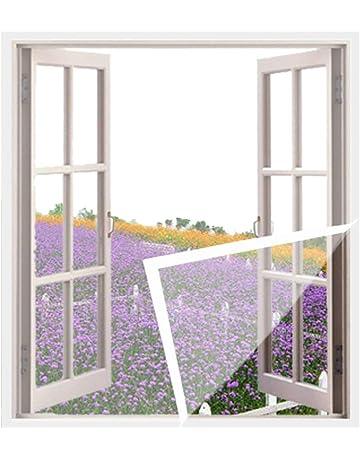 59 x32.8ft Window Mesh Screen for Window Door And Patio Screen Protection Patio Screens,Green,1.5x10m ZFMG Fiberglass Screen Roll