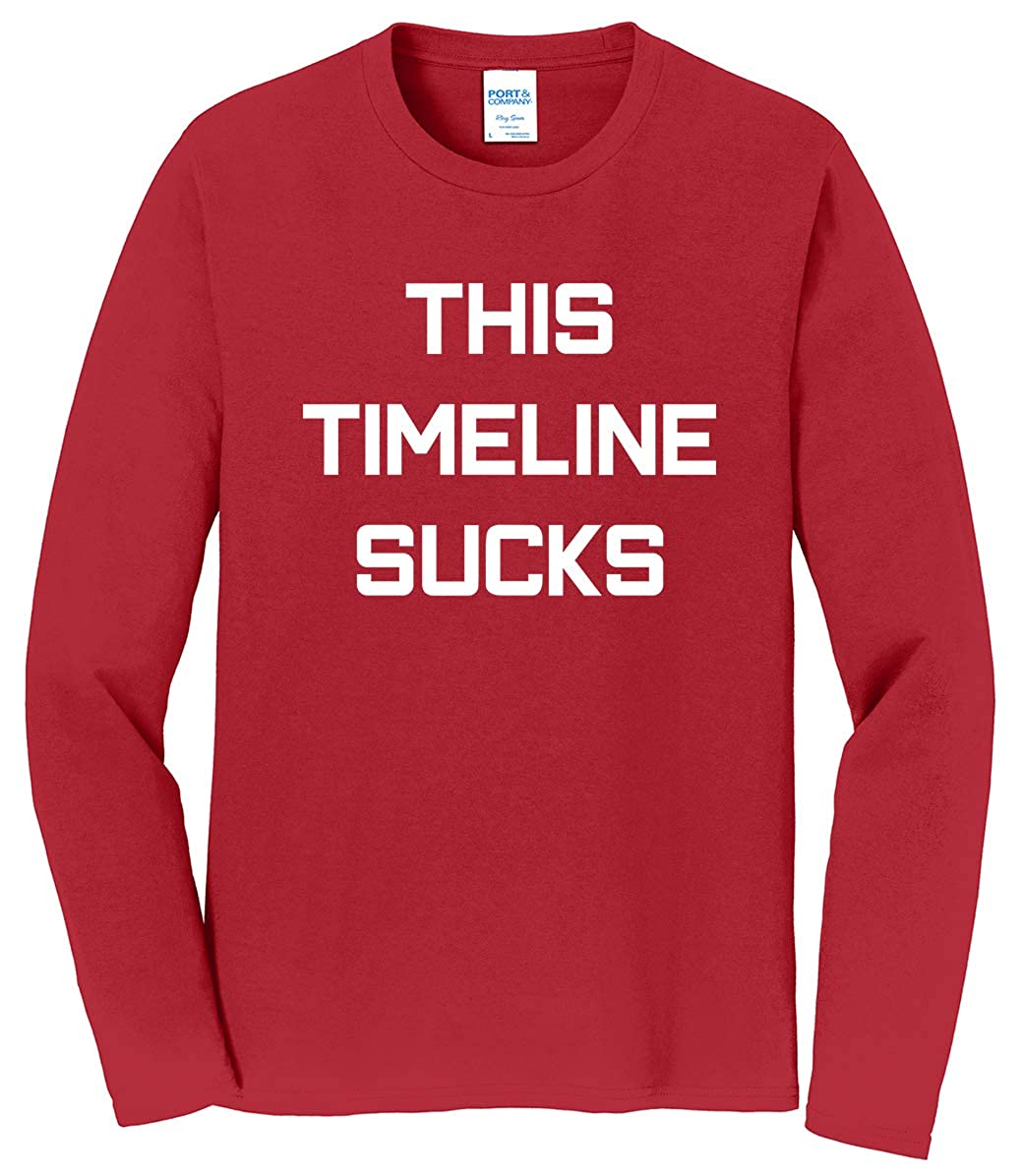 Tenacitee Mens This Timeline Sucks T-Shirt