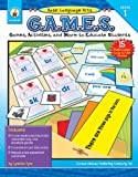 img - for Basic Language Arts G.A.M.E.S., Grade 1: Games, Activities, and More to Educate Students book / textbook / text book