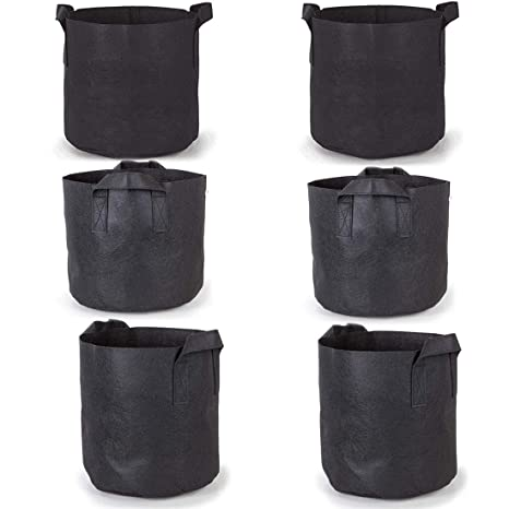 Bolsas de cultivo Paquetes de 6 / Paquetes, 5galones de ...