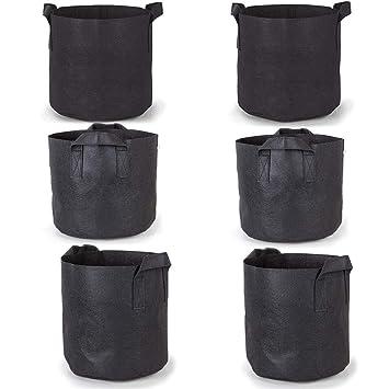 Bolsas de cultivo Paquetes de 6 / Paquetes, 7 galones de ...