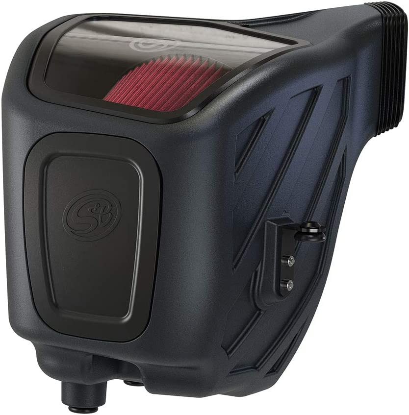 S/&B Filters 75-5133 Cold Air Intake For 2019-2020 Ram 2500//3500 6.4L Hemi Gas Oiled Cleanable, 8-ply Cotton Filter