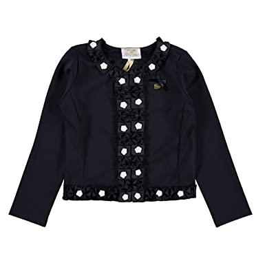 2531b5429198 Le Chic Girls Cardigan With Flower Decoration - Blue Navy - 6 Years ...
