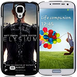 Beautiful Custom Designed Cover Case For Samsung Galaxy S4 I9500 i337 M919 i545 r970 l720 With Elysium Teaser Poster Phone Case