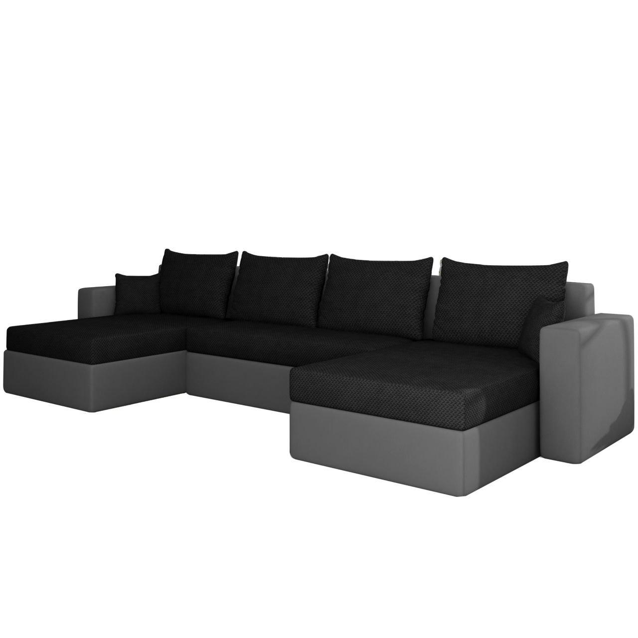 ecksofa sofa couchgarnitur couch rumba smart wohnlandschaft mit schlaffunktion und bettkasten. Black Bedroom Furniture Sets. Home Design Ideas