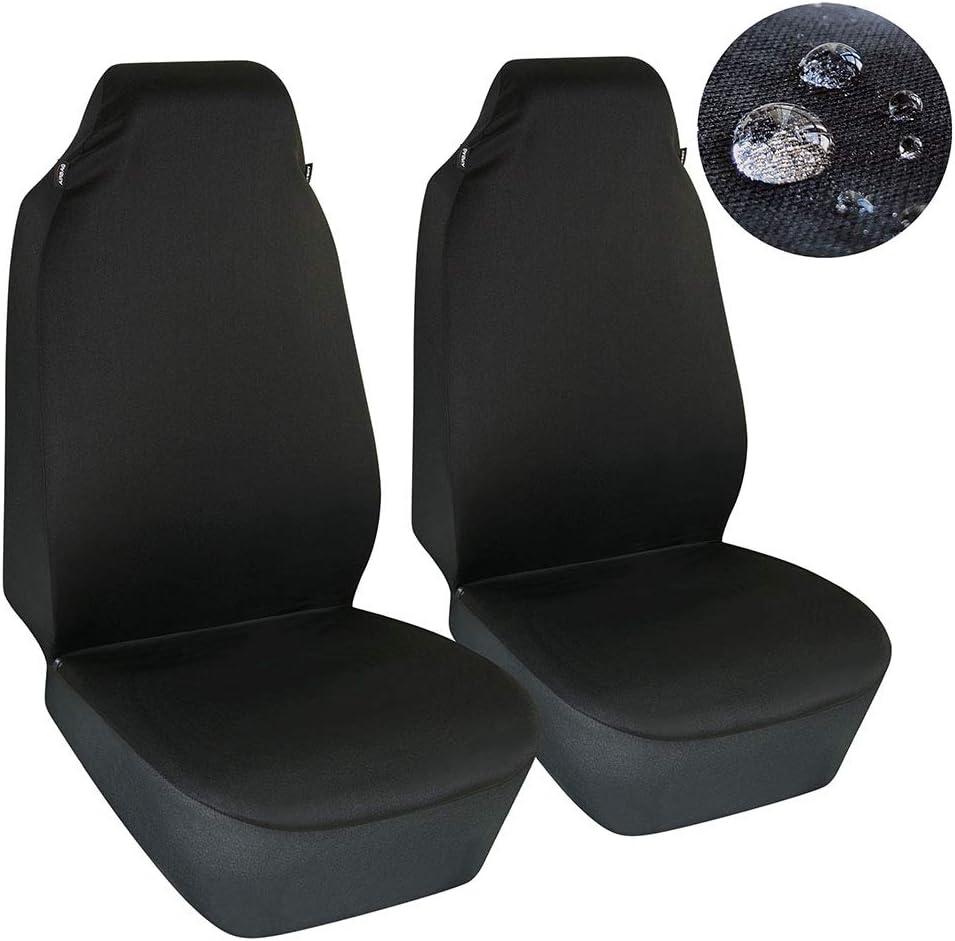 FORD TRANSIT MK7 Heavy Duty Black Waterproof Single Seat Cover 1 x Front