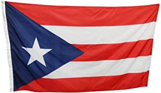product image for 3x5' Puerto Rico Flag - Durable All Weather Nylon & Reinforced Fly End Stitching - Made in USA