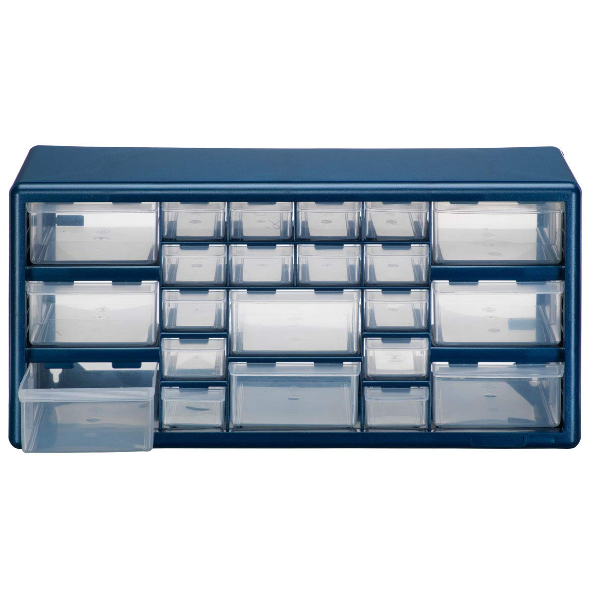 Stack On DSB-22-3 22 Compartment Small Parts Organizer Indoor Storage Cabinet