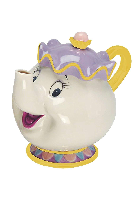 Vandor Beauty and the Beast Mrs. Potts Sculpted Ceramic Teapot #94008