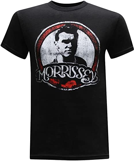a20aa242 The Smiths Classic Rock Band Men's T-Shirt - (Morrissey) - S