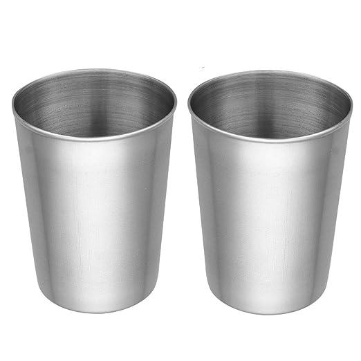 chictry irrompible potable vaso de pinta vasos de acero ...