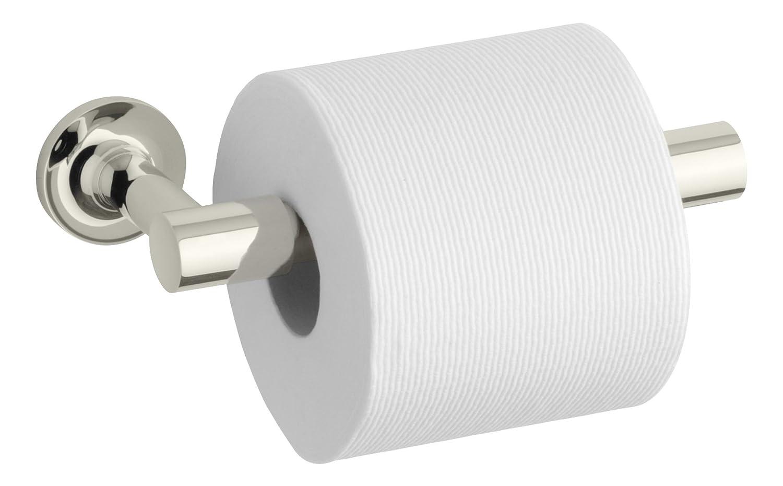 Kohler K 14377 Cp Purist Pivoting Toilet Tissue Holder, Polished Chrome   Toilet  Paper Holders   Amazon.com