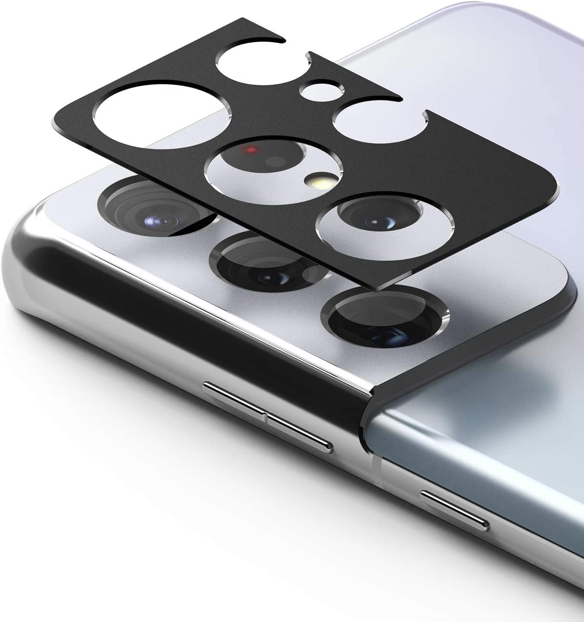 Protector de cámara Ringke Style de Galaxy S21 Ultra - Negro