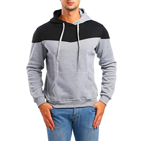 Amazon.com: Casual Hoodies,Mens Autumn Pockets Hoodie Hooded Sweatshirt Tee Outwear for Men: Musical Instruments