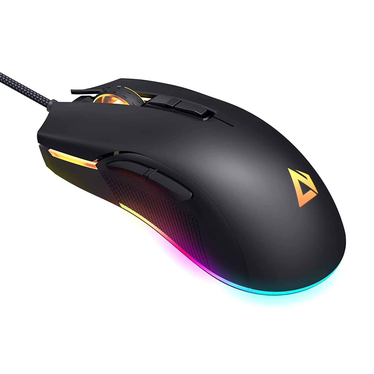 AUKEY Mouse Gaming per FPS con 5000 DPI Reali