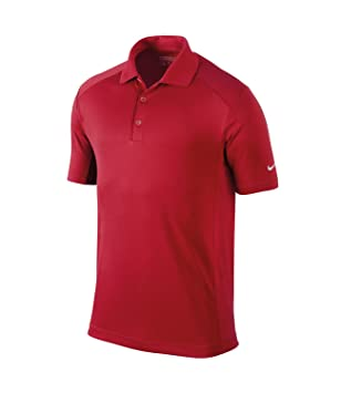 Nike Mens S S Victory Polo Shirt University Red Small 48a30f65b702