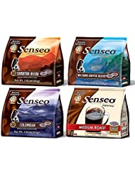 Senseo 4 Flavor Coffee Variety Pack World Edition 16 Count Pods Pack Of 4