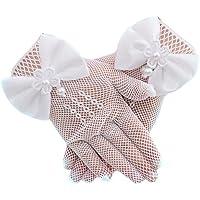 outflower guantes de boda para niños guantes de vestido de niña decoración guantes de Performance guantes Princesa…