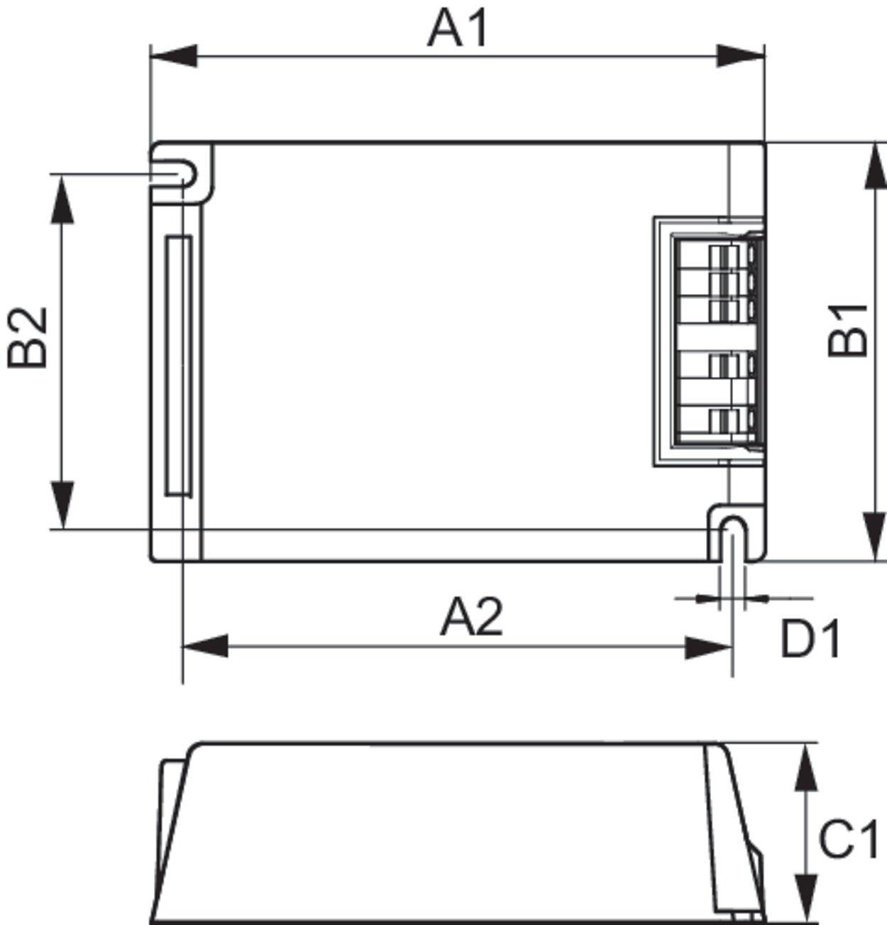 Philips EVG HID-PV C 35//S CDM 220/ /240/V 50//60Hz