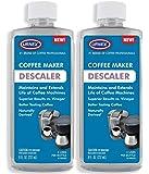 Descaler (2 Pack, 2 Uses Per Bottle) - Universal Cleaner & Descaling Solution for Keurig, Nespresso, Delonghi, Breville…