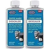 Descaler (2 Pack, 2 Uses Per Bottle) - Universal Cleaner & Descaling Solution for Keurig, Nespresso, Delonghi, Breville, and