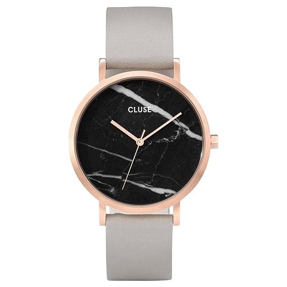 CLUSE Reloj Analógico para Mujer de Cuarzo con Correa en Cuero CL40006: Cluse: Amazon.es: Relojes