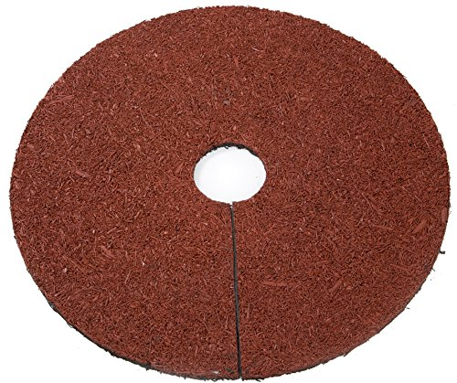 Trademark Innovations Reversible Mulch Ring Tree Protector Mat, 24'