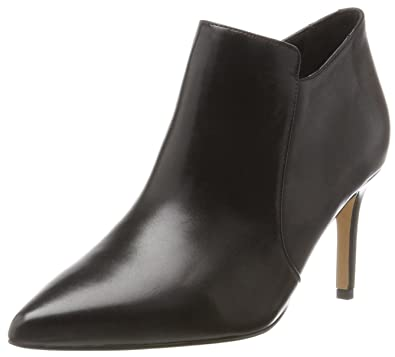 Marques Chaussure femme Clarks femme Spiced Flame Black Suede